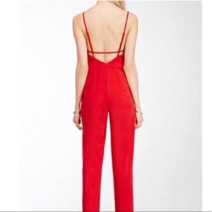The Perfect Red Jumpsuit 👌